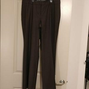 Ann Taylor brown dress lined dress pants
